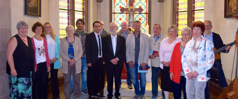 St. Marien-Kirche Wollershausen – Proben des Projektchores